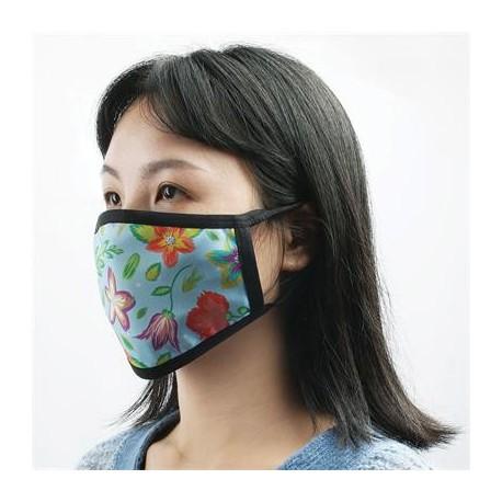 Full Colour 2 Layer Cotton reusable Face Mask